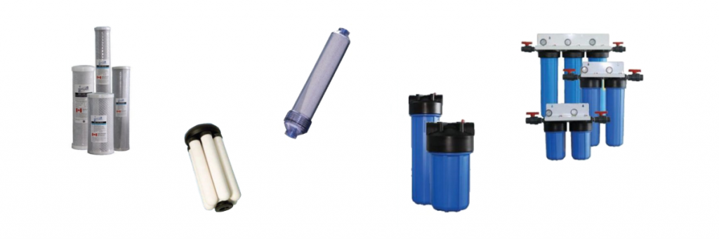 Replacement Filter Cartridges & Housings