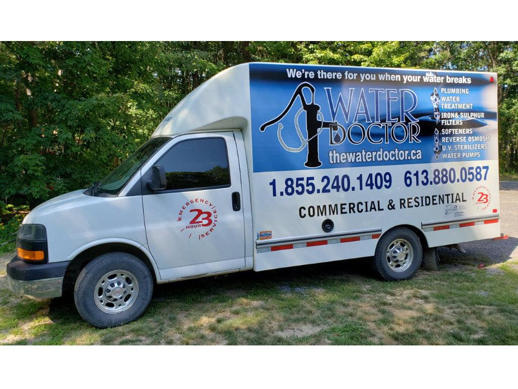 The Water Doctor Service Van